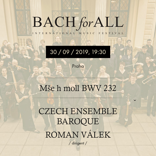 Czech Ensemble Baroque - Mše h-moll